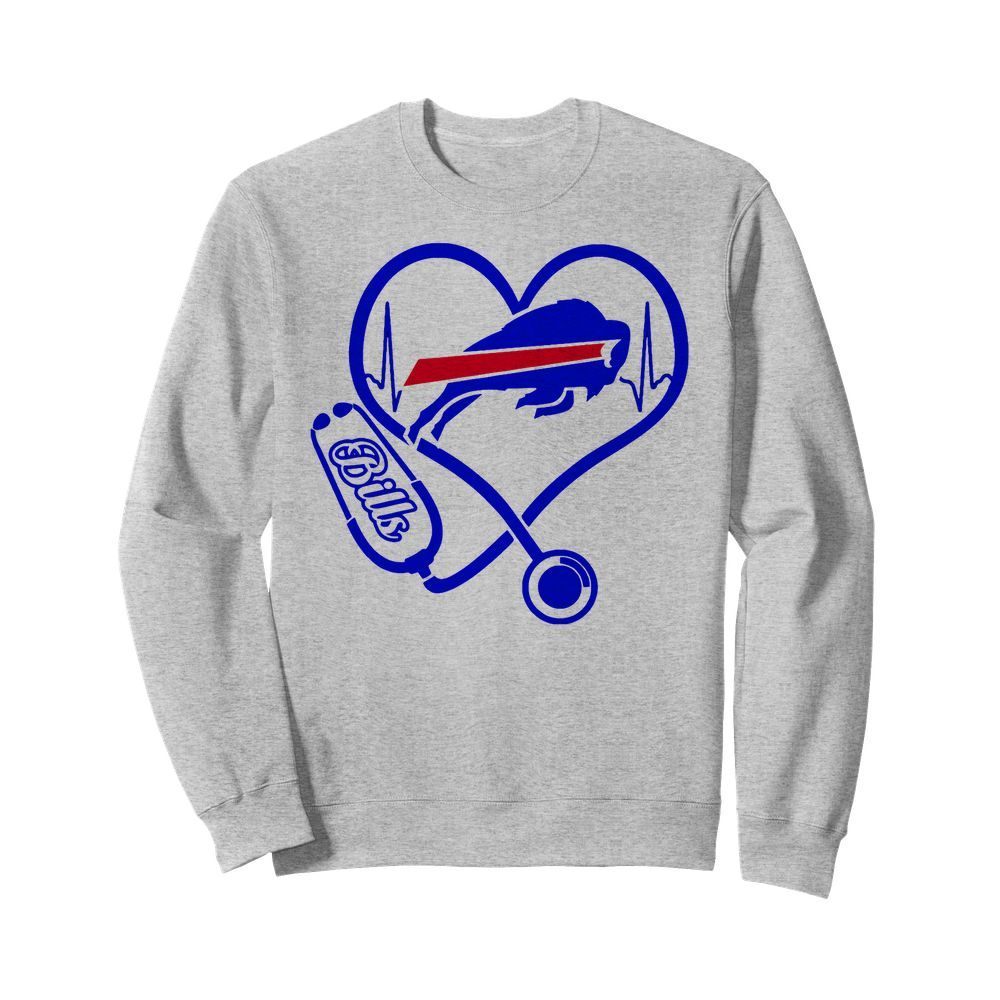Nurse Heart Buffalo Bills Sweater