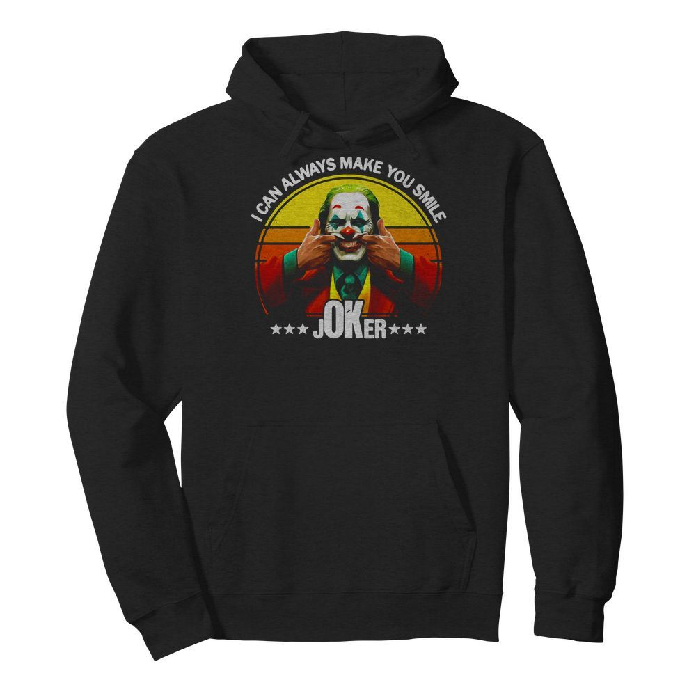 Premium I Can Always Make You Smile Joker Vintage Hoodie