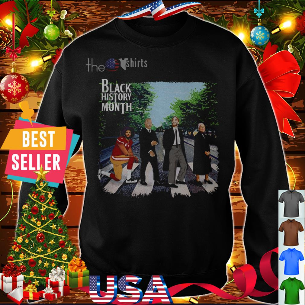 Abbey Road black history month shirt