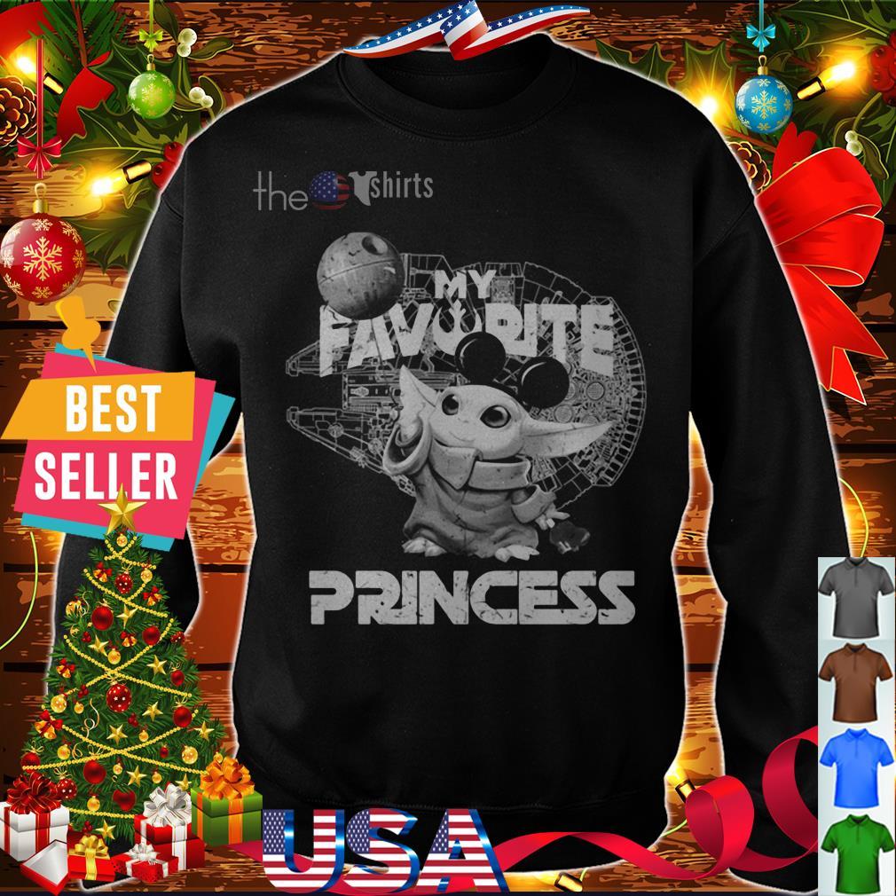 Baby Yoda my favorite princess shirt