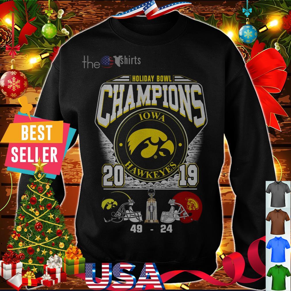 Iowa Hawkeyes Holiday Bowl Champions 2019 shirt