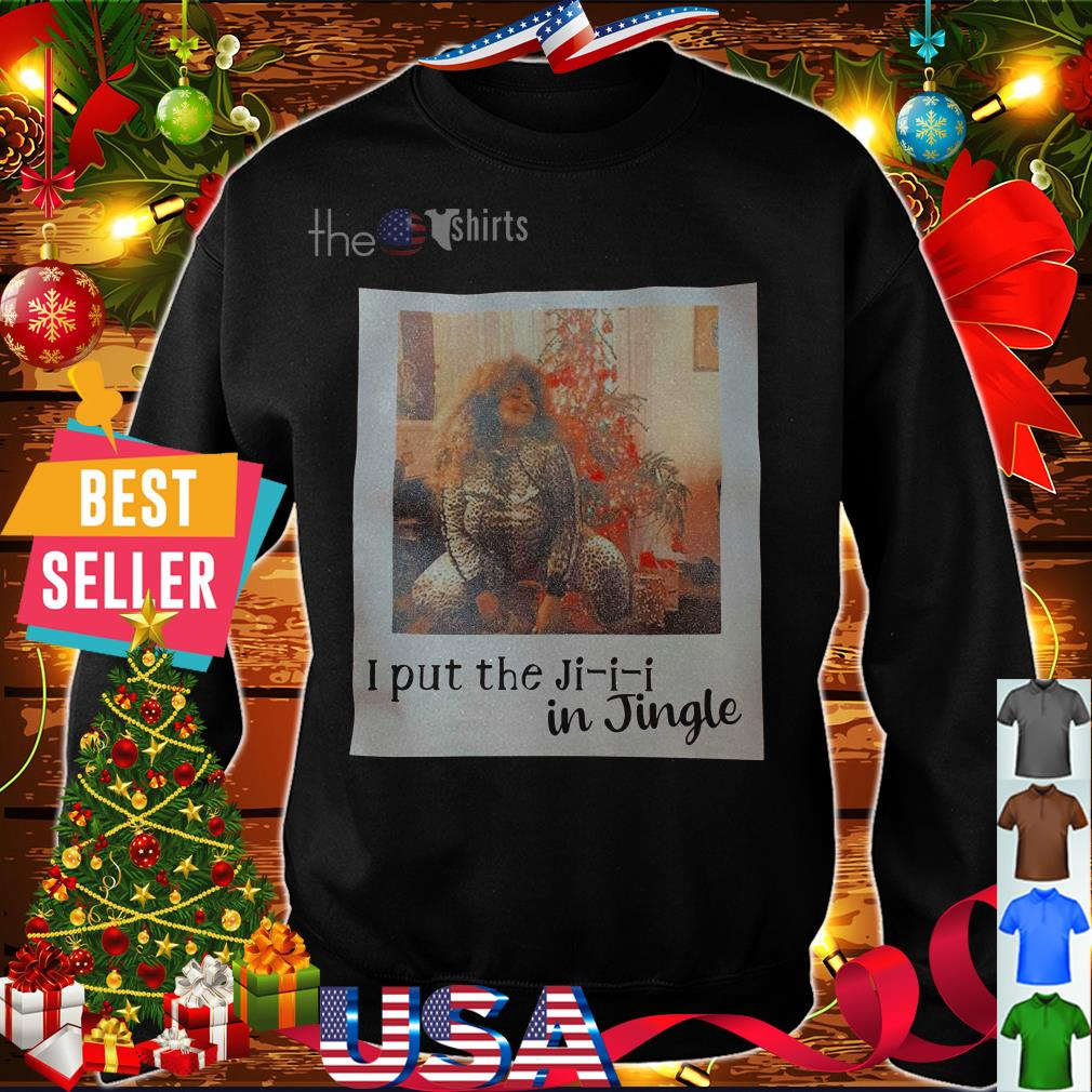 Lizzo I put the Ji-i-i in Jingle shirt