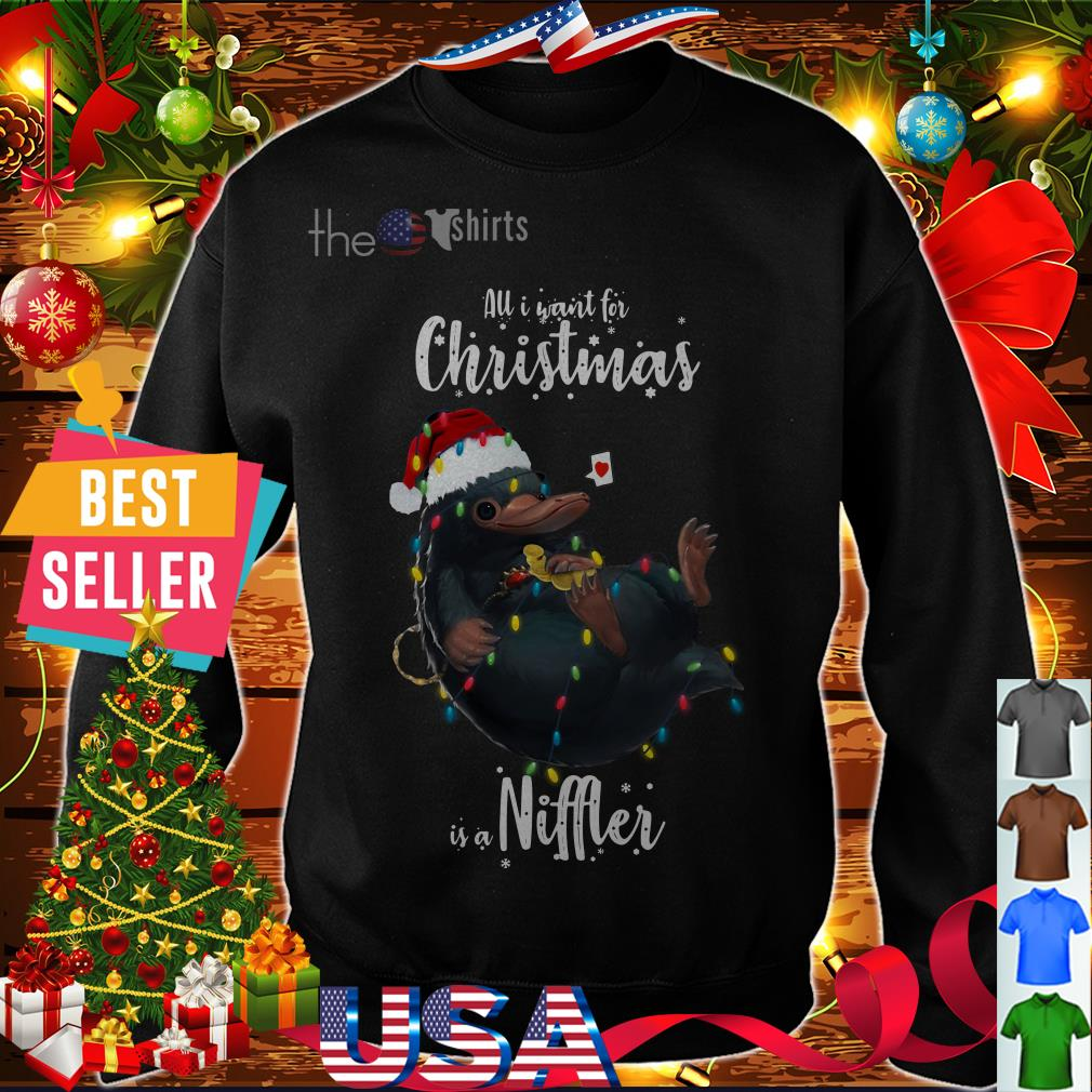 Official All I want for Christmas is a Niffler shirt