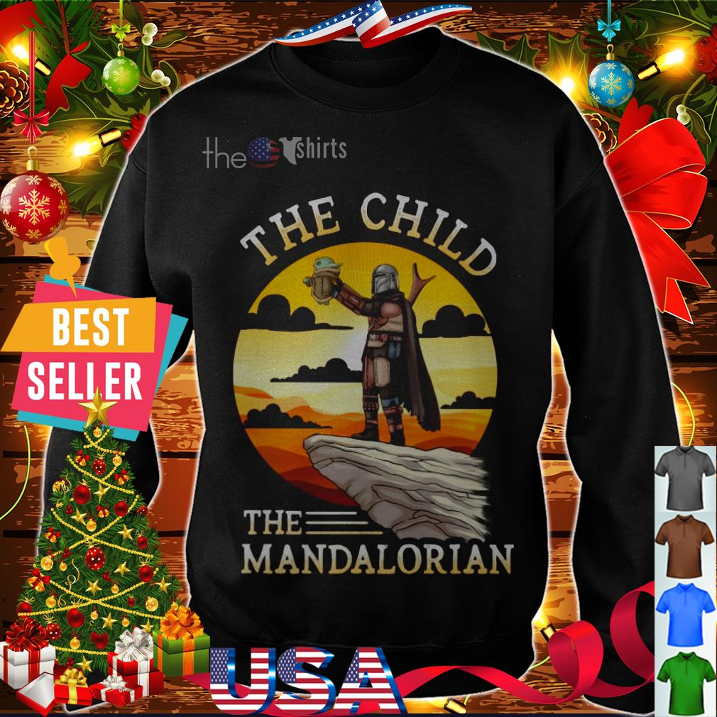 Star Wars Baby Yoda The Child the Mandalorian shirt