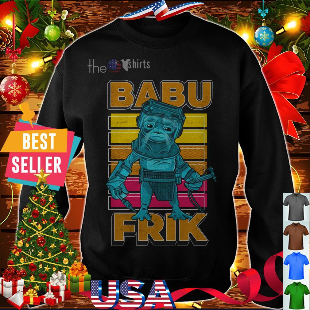 Star Wars The Rise Of Skywalker Babu Frik shirt