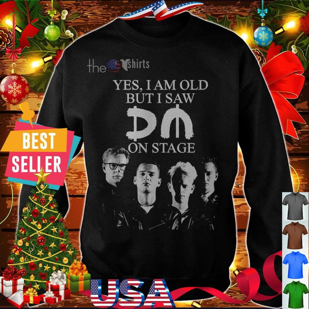 Yes I am old but I saw Depeche Mode on stage shirt