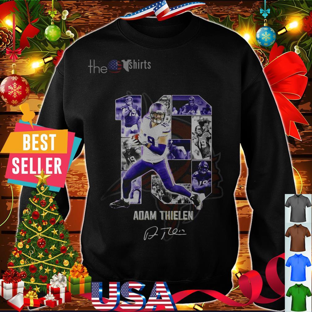 10 Adam Thielen Minnesota Vikings signature shirt