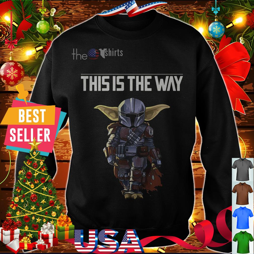 The Mandalorian this is the way shirt