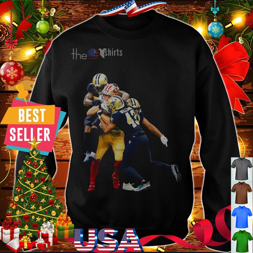 Official George Kittle 49ers vs Saints shirt
