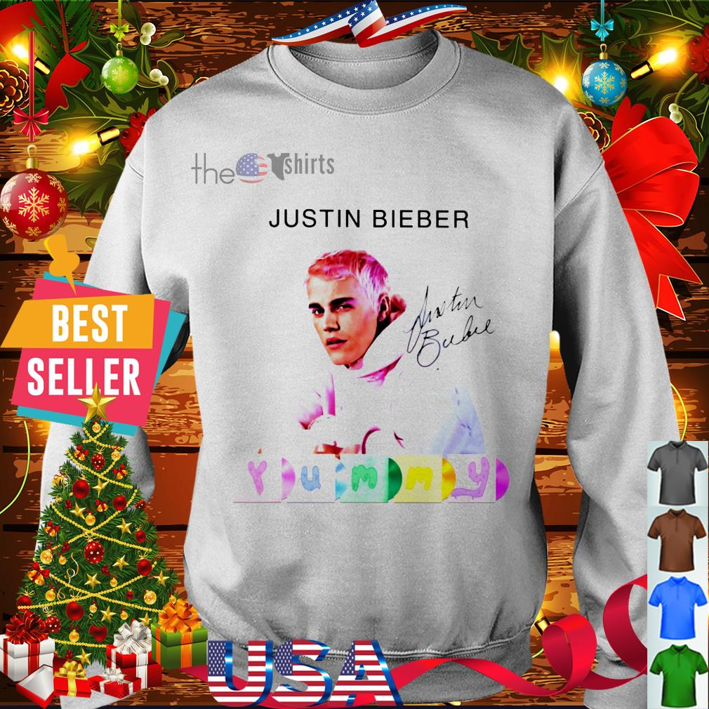 Official Justin Bieber yummy signature shirt