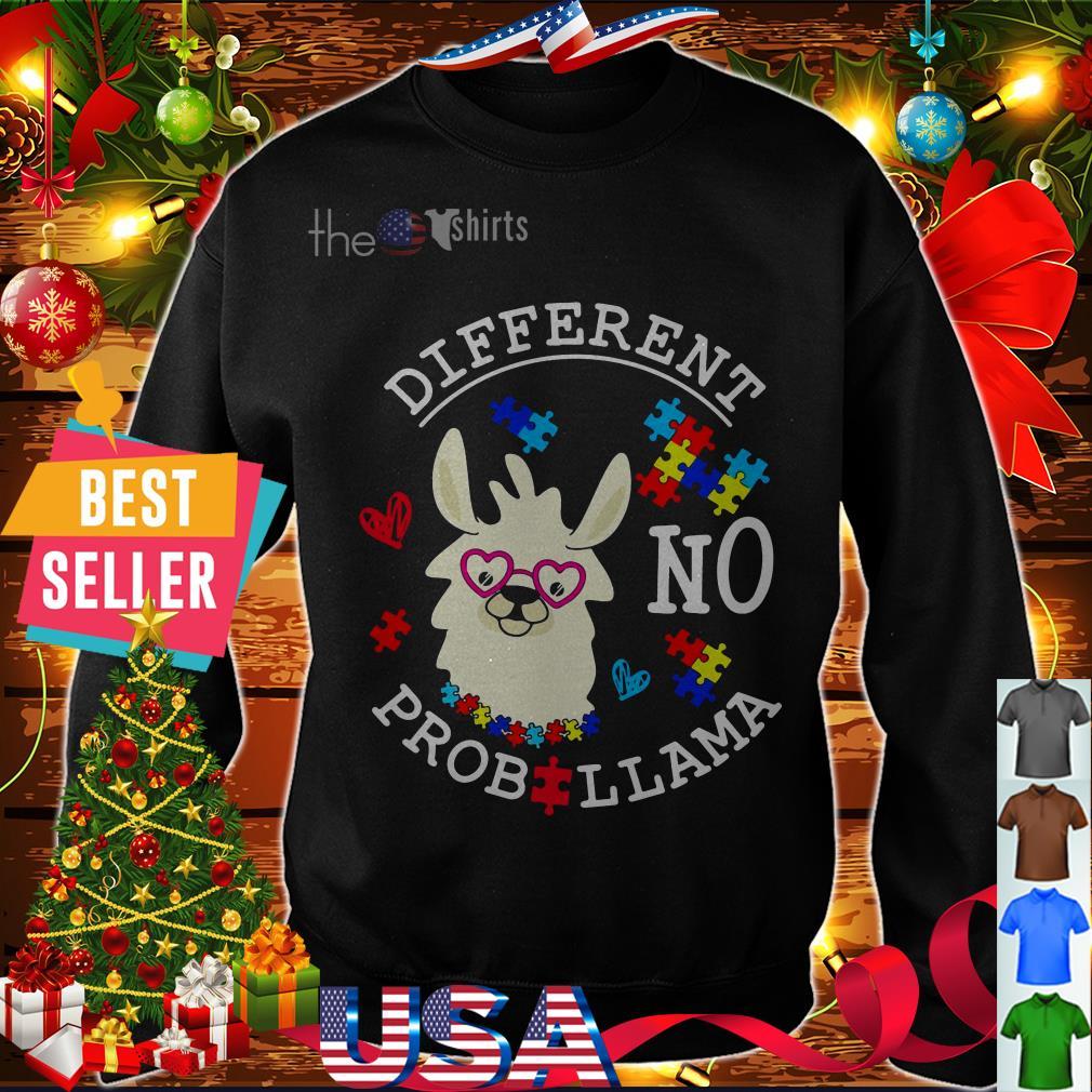 Autism different no Prob Llama shirt