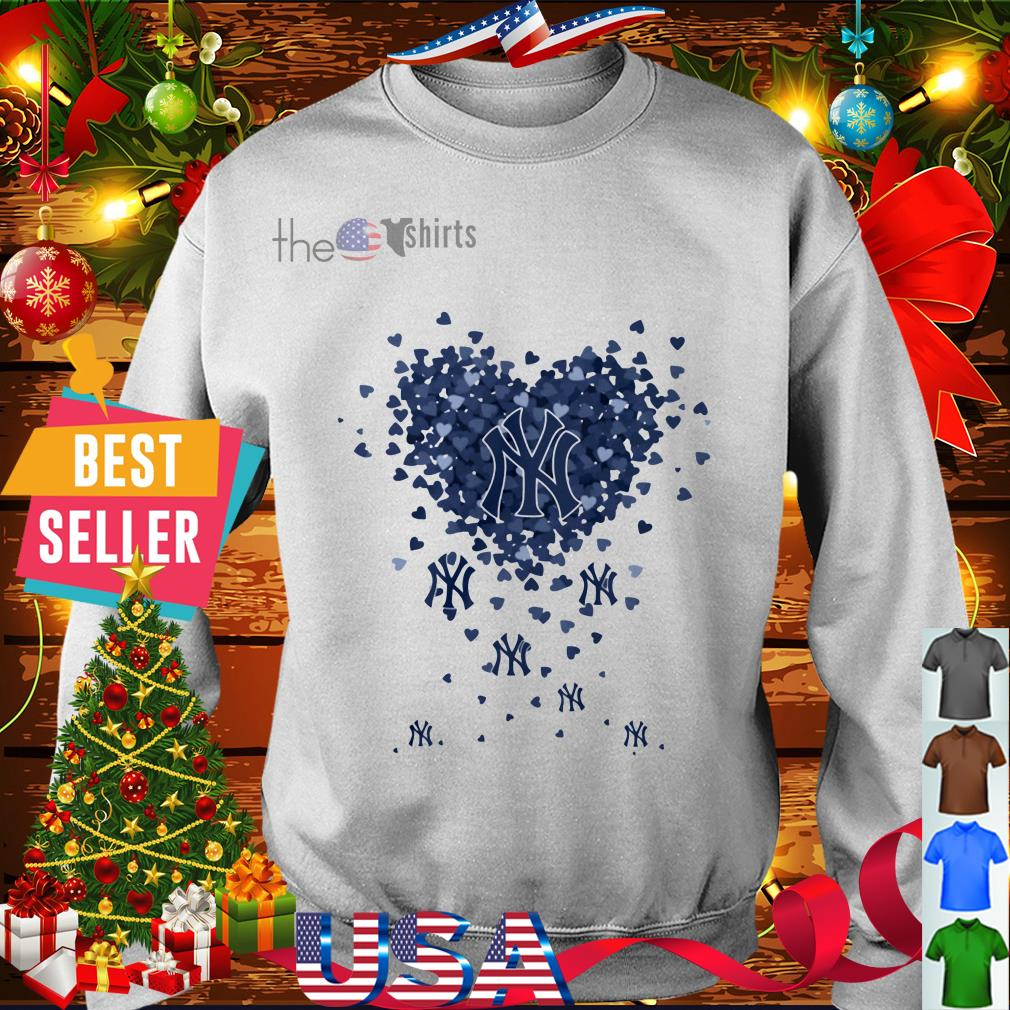 New York Yankees Valentine heart shirt