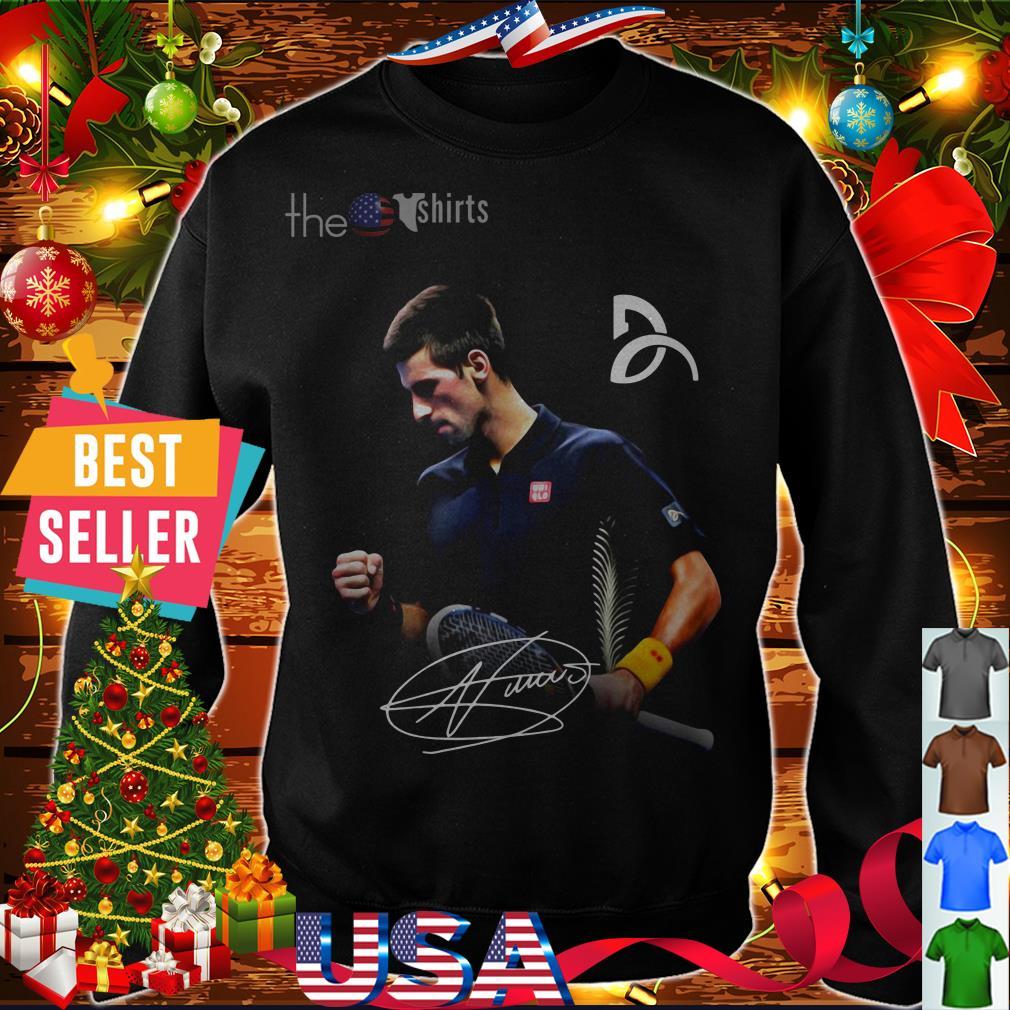 Novak Djokovic signature shirt