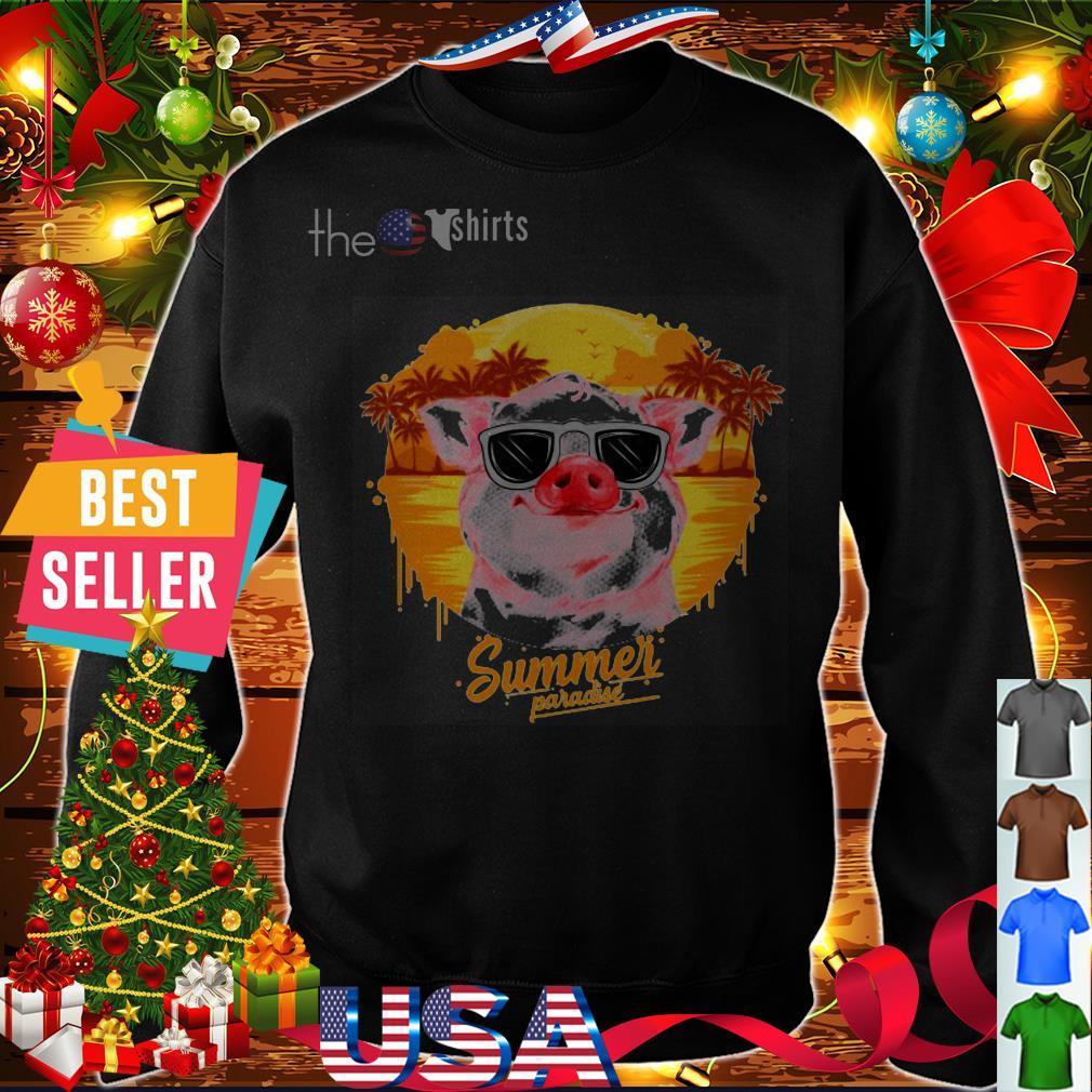 Pig summer paradise shirt