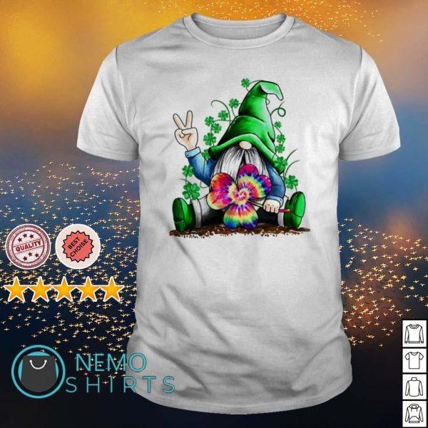 St. Patrick's day Irish Hippie Gnome shirt