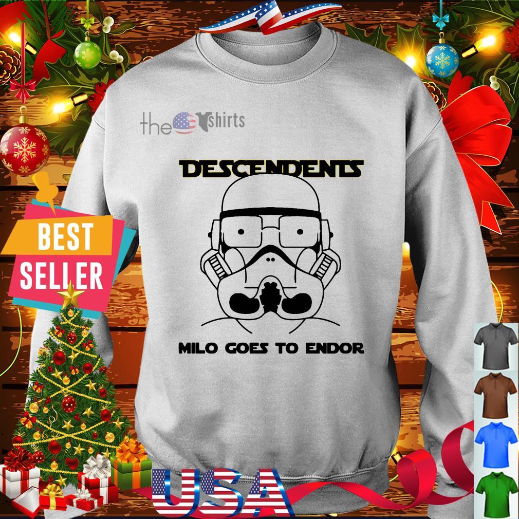 Stormtrooper Descendents milo goes to endor shirt