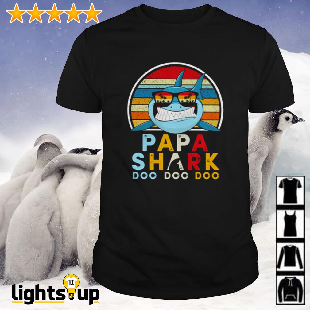 Papa shark Doo Doo Doo vintage shirt