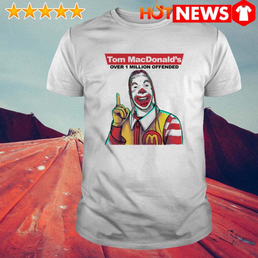 Over 1 million offended Tom Macdonald's shirt