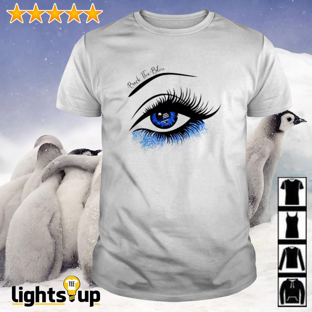 Thin Blue Line eyes back the blue shirt