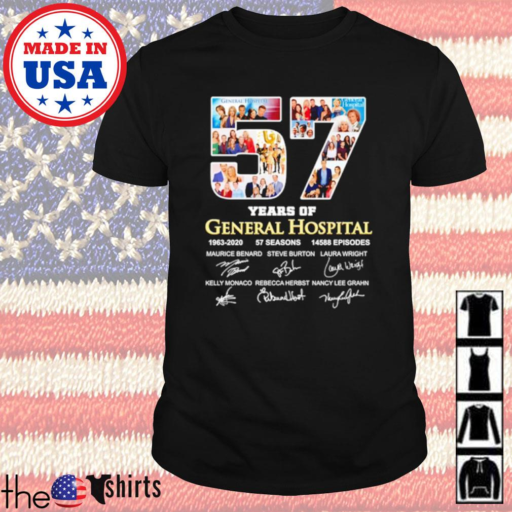 57 Years of General Hospital 1963-2020 57 seasons 14588 Episodes all characters shirt