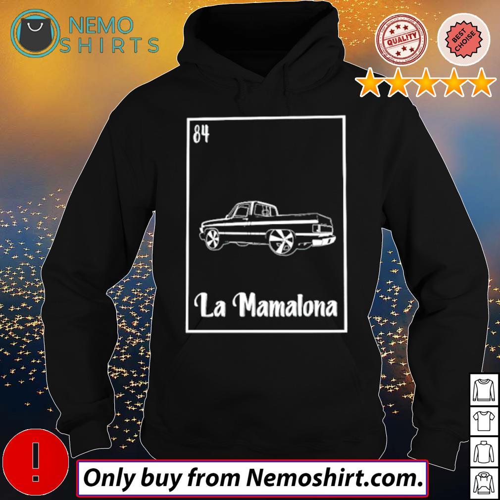 84 Car La Mamalona s Hoodie Black