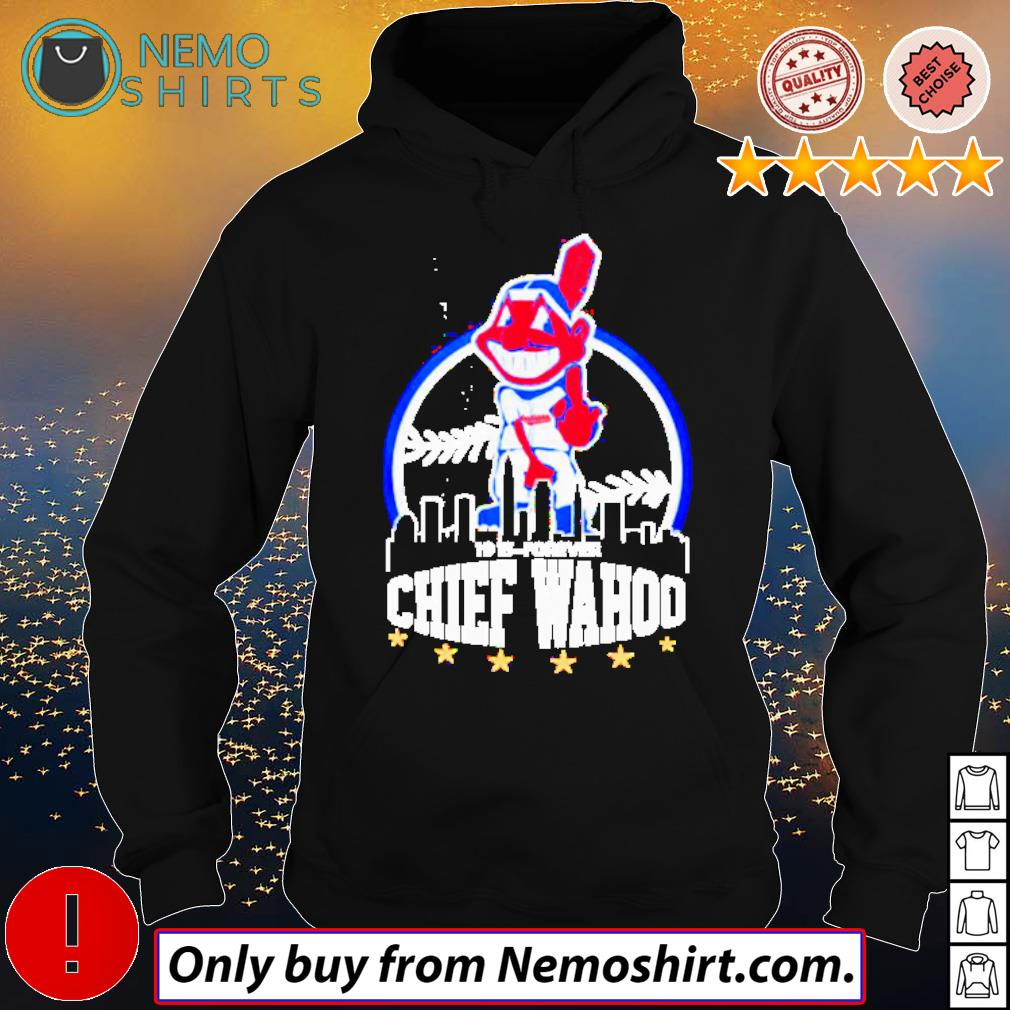 Cleveland Indians middle finger Chief Wahoo s Hoodie Black