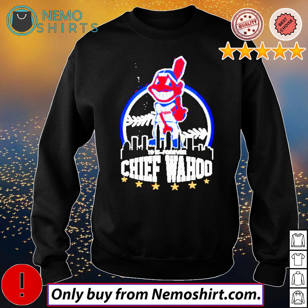 Cleveland Indians middle finger Chief Wahoo s Sweatshirt Black