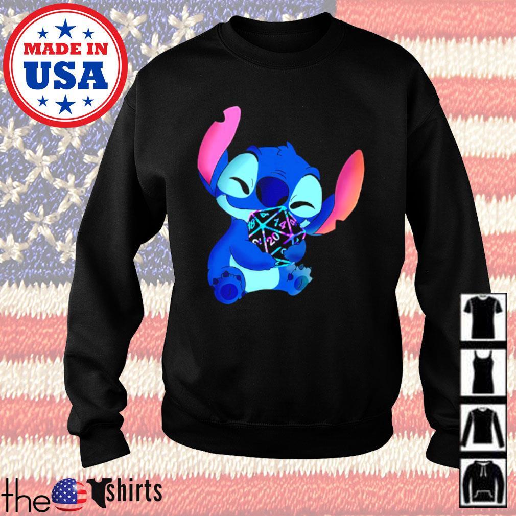 Disney Baby Stitch hug Dungeon s Sweater Black