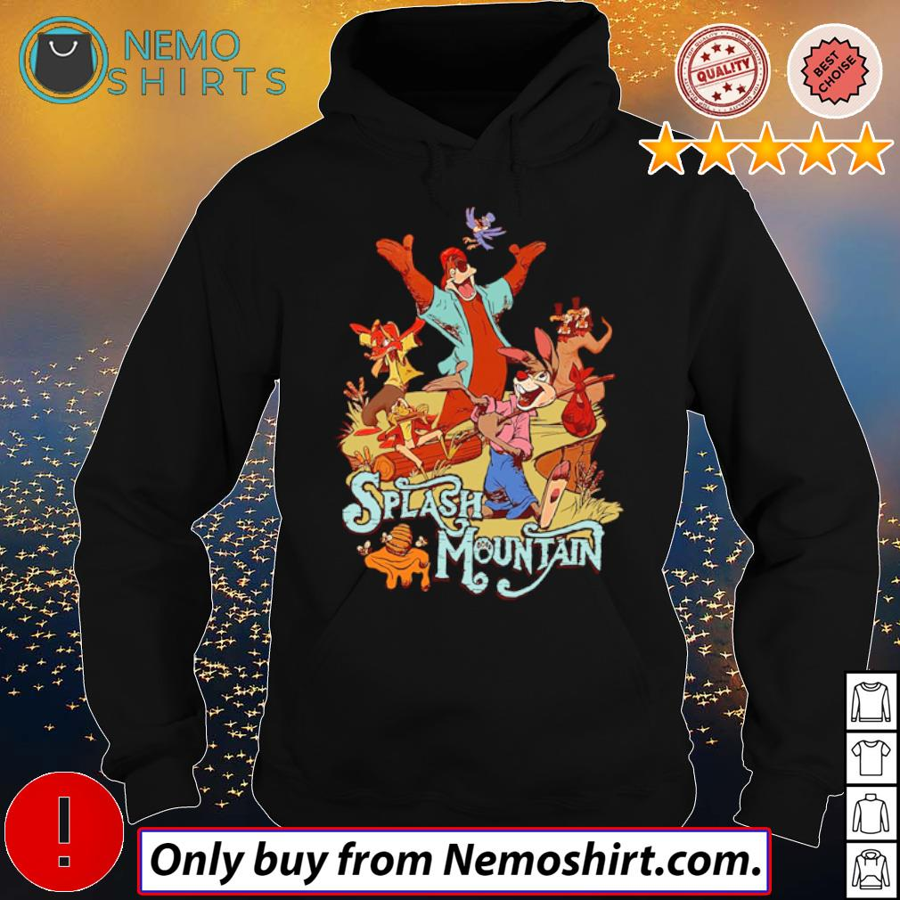 Disney world Bear rabbit Splash mountain s Hoodie Black