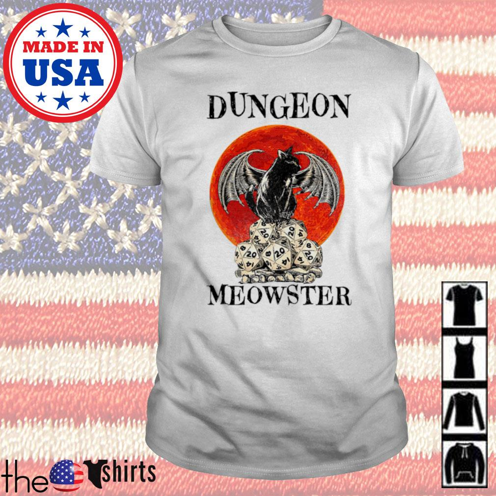 Dungeon Meowster blood moon shirt