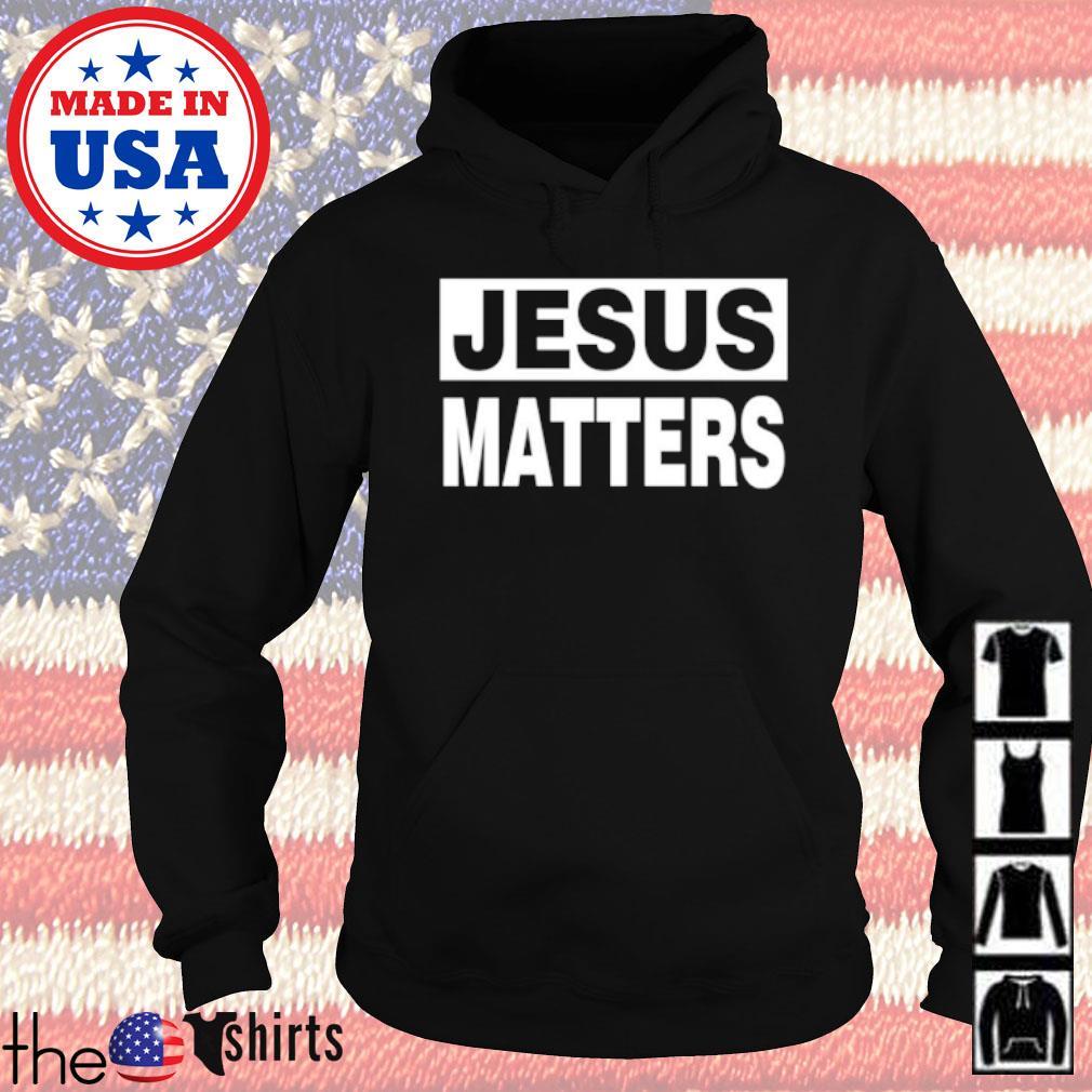 God Jesus matters s Hoodie Black