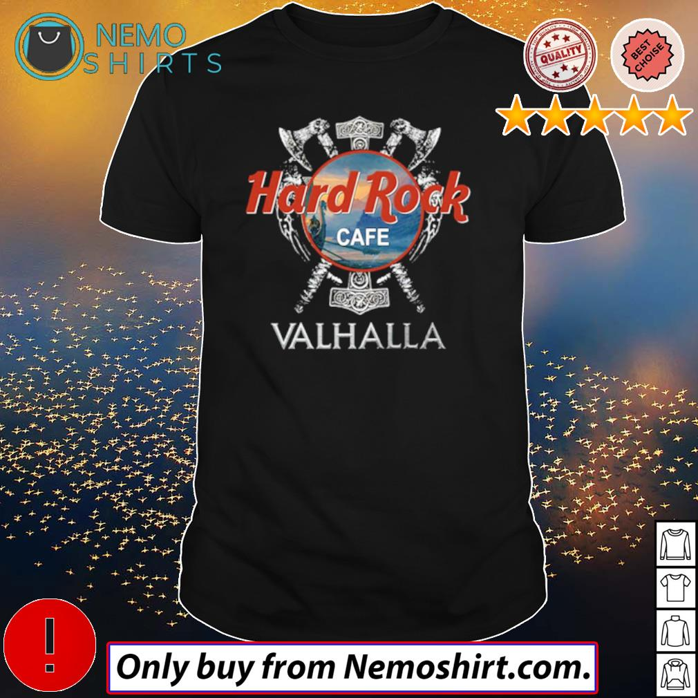Hard Rock Cafe Valhalla Viking movie shirt
