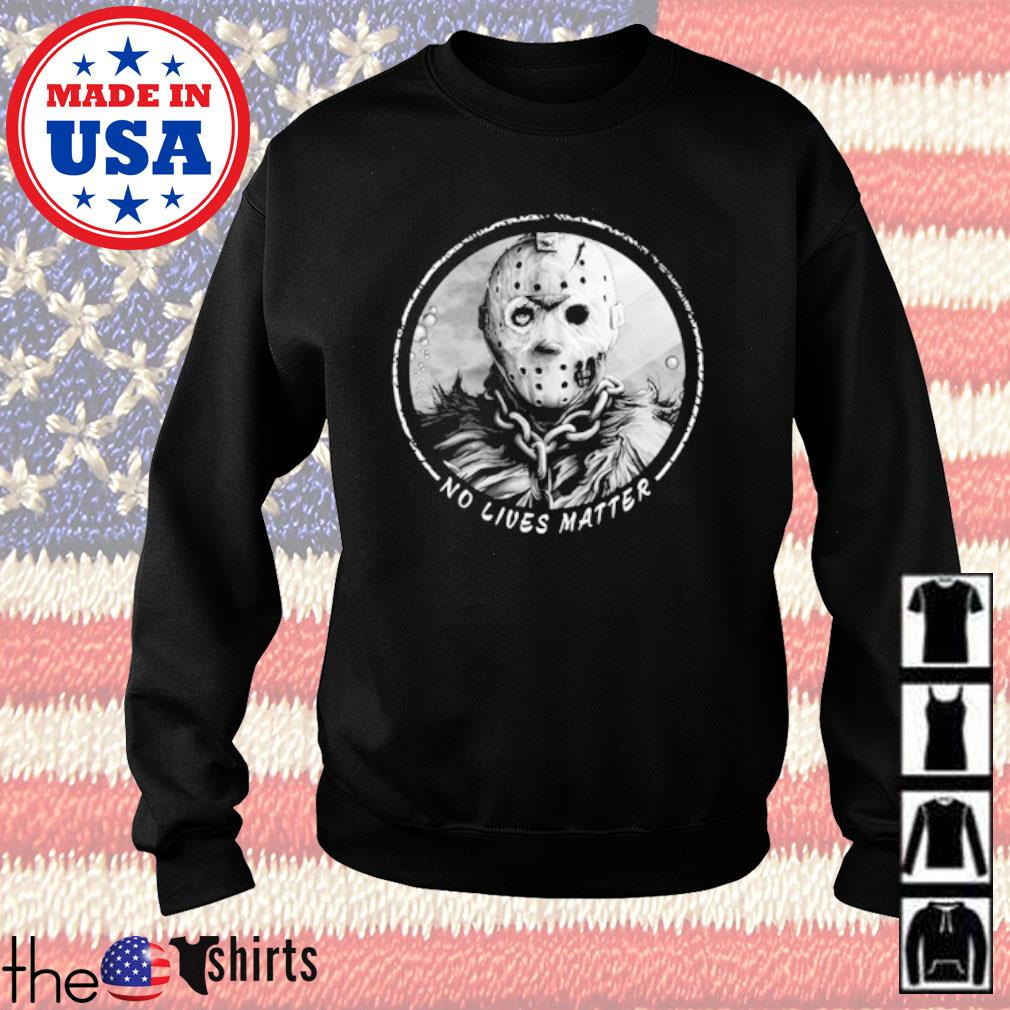 Horror Jackson Voorhees No lives matter s Sweater Black