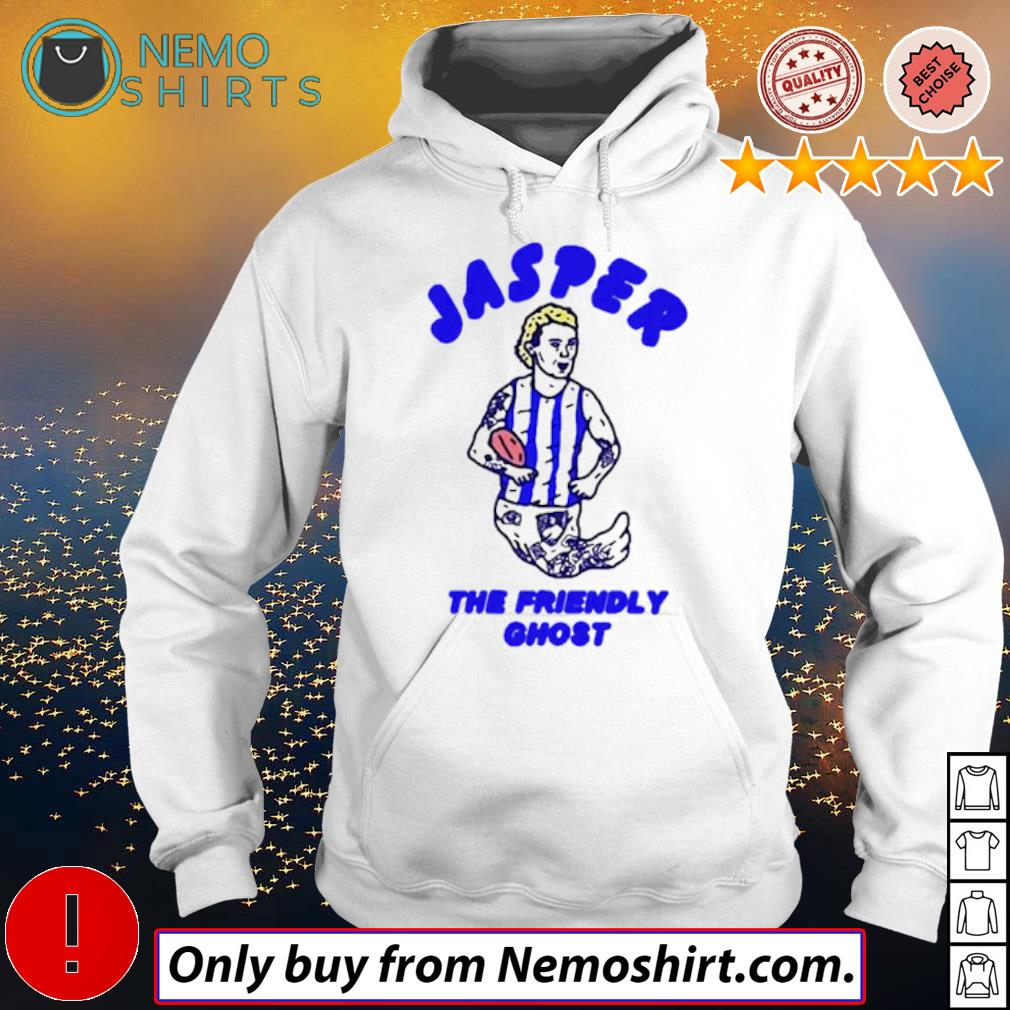 Jasper The Friendly Ghost shirt t Hoodie white