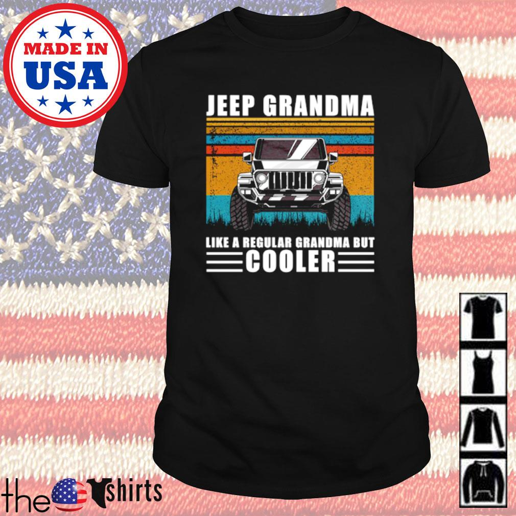 Jeep Grandma like a regular grandma but cooler vintage shirt