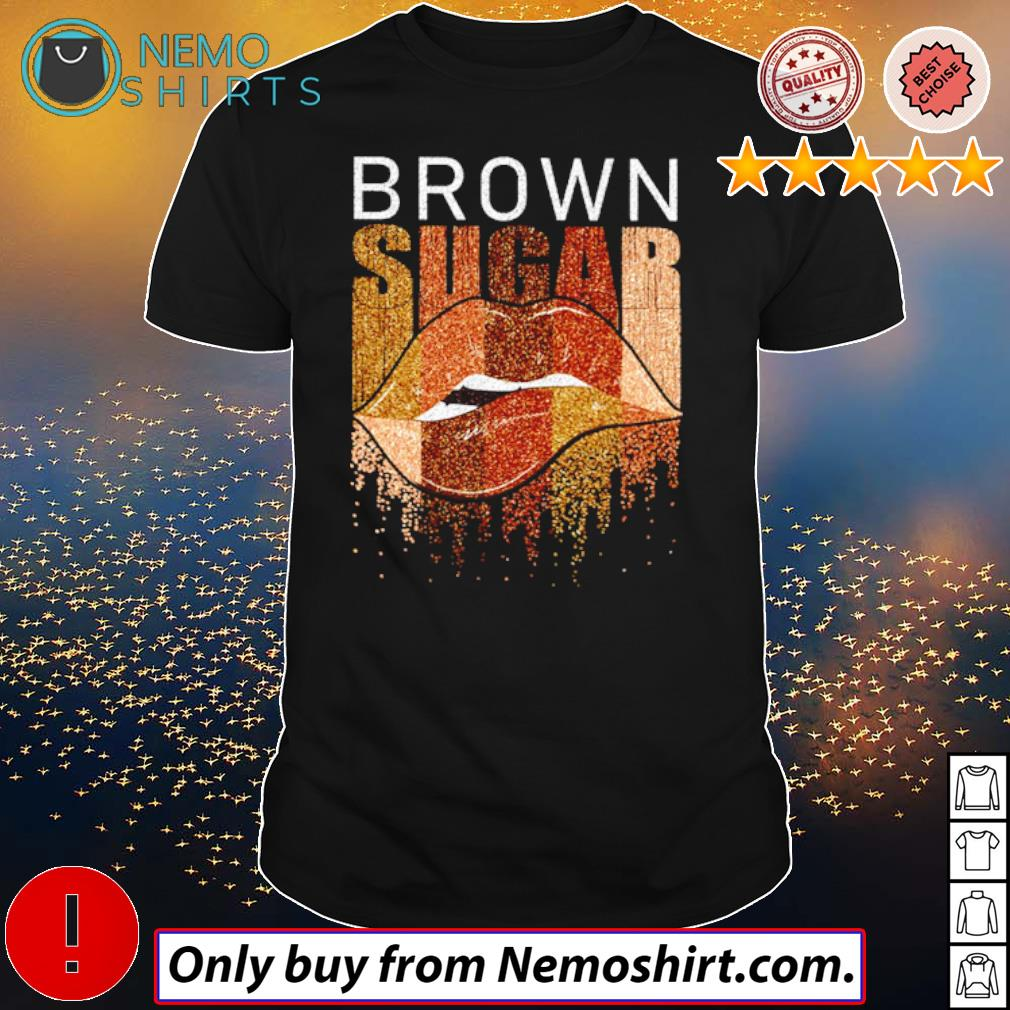 Lips Brown sugar shirt