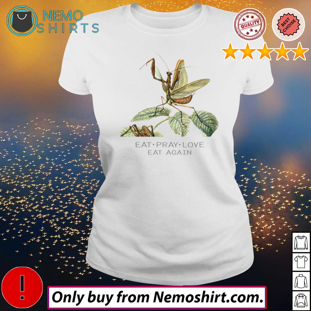 Mantis Eat pray love eat again s Ladies white