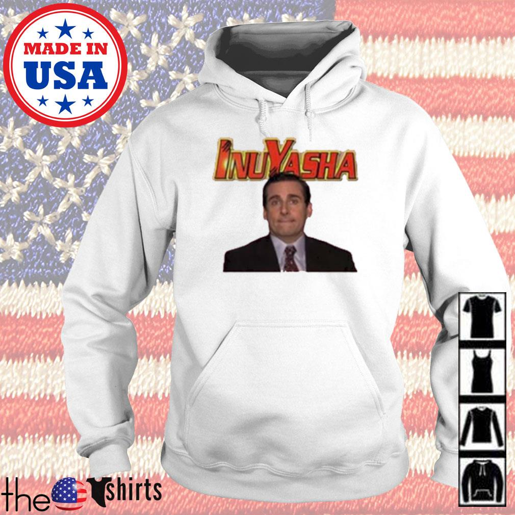 Michael Scott Inuyasha Cartoon s Hoodie White