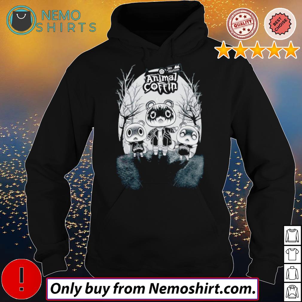 No Horizon welcome to Animal Coffin s Hoodie Black