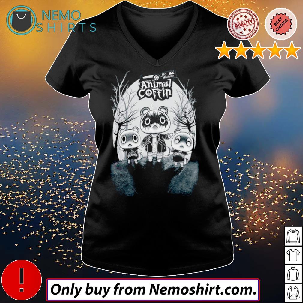 No Horizon welcome to Animal Coffin s V-neck Ladies Black