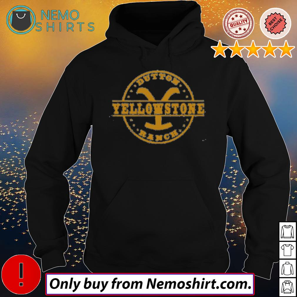 Official Dutton Yellowstone ranch s Hoodie Black