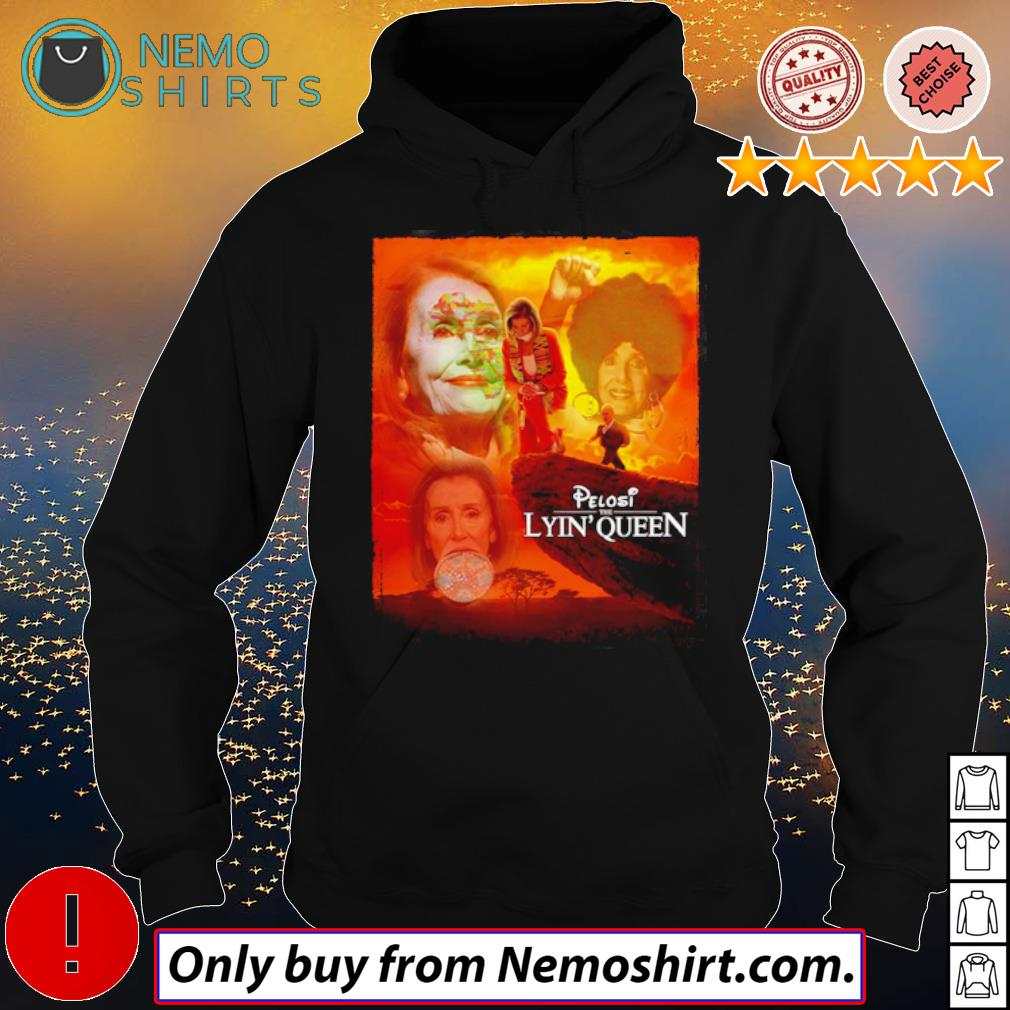 Official Pelosi the lyin' queen s Hoodie Black