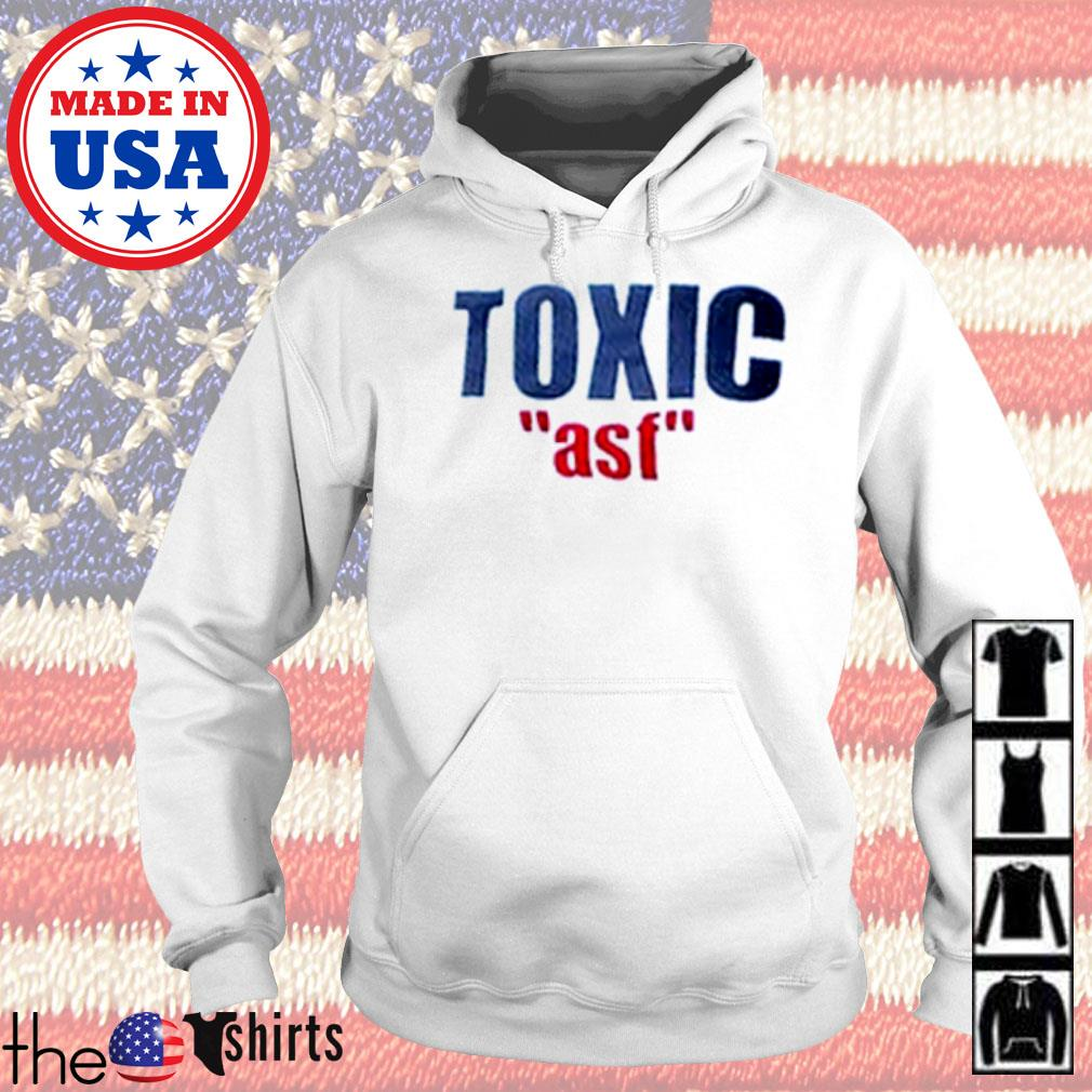Official Toxic ASF s Hoodie White