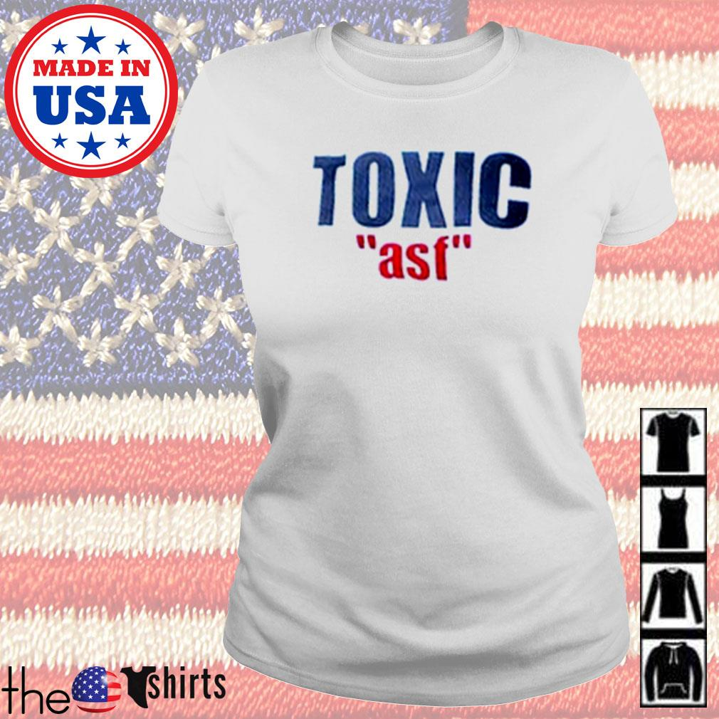 Official Toxic ASF s Ladies Tee White
