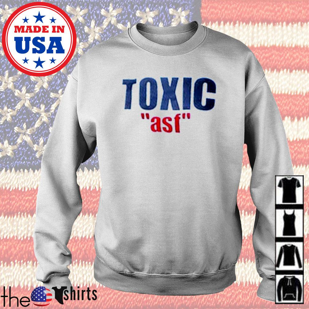 Official Toxic ASF s Sweater White