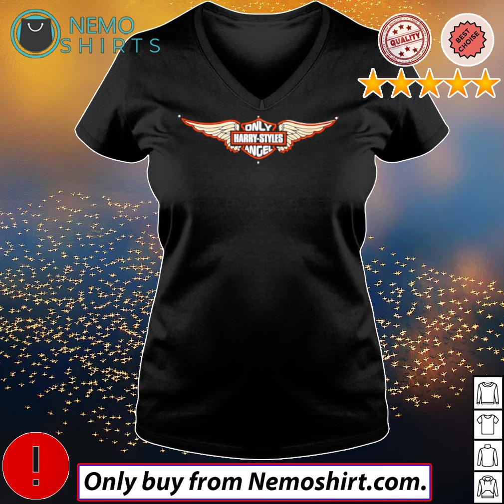 Only Harry Styles Angel s V-neck Ladies Black
