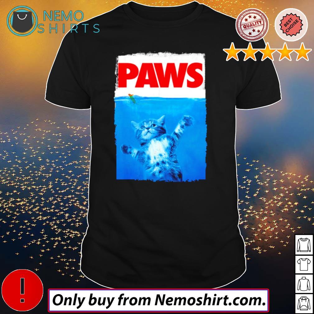 Paws Cat sea shirt
