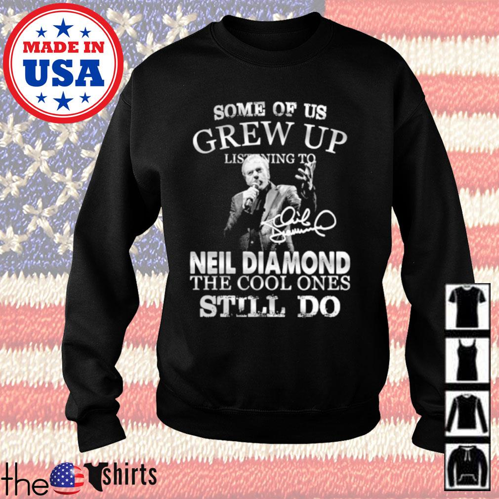Some of us grew up listening to Neil Diamond the cool ones still do s Sweater Black