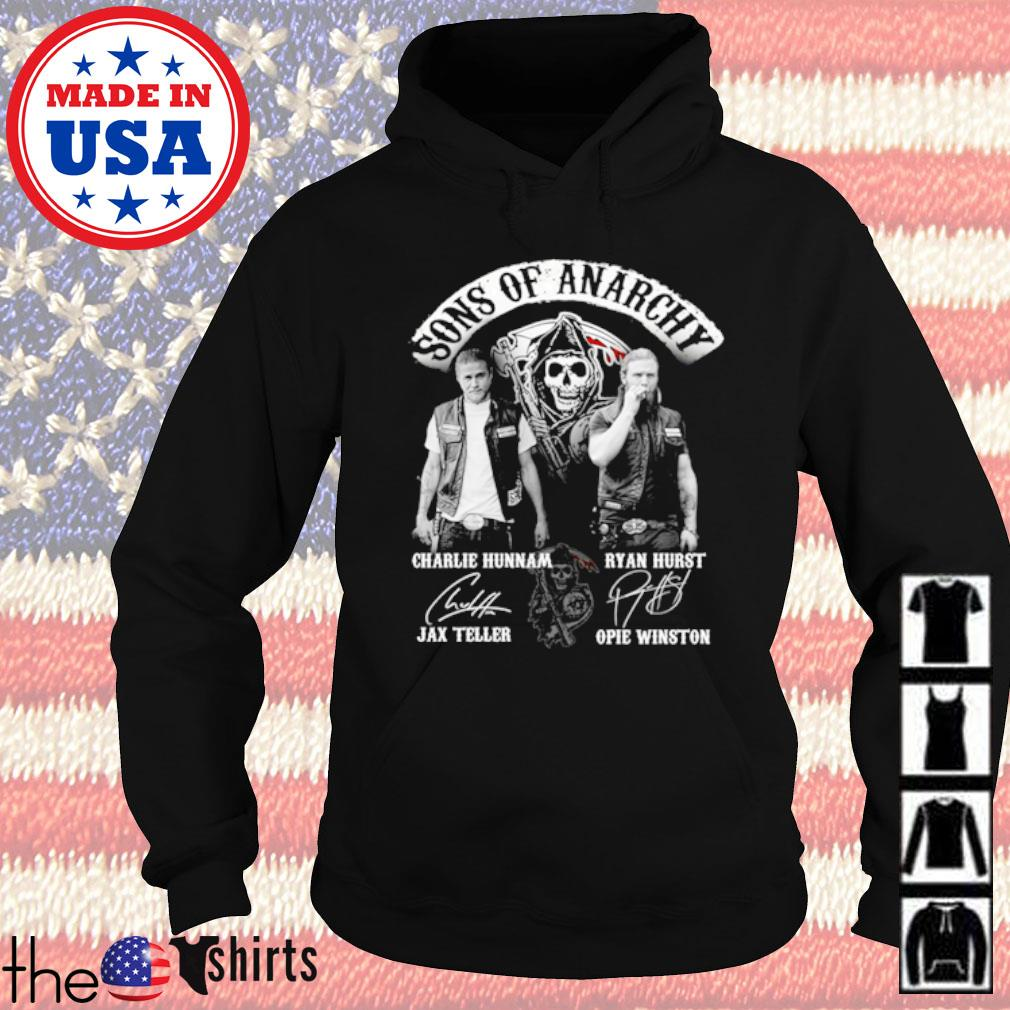 Sons of Anarchy all character signatures s Hoodie Black