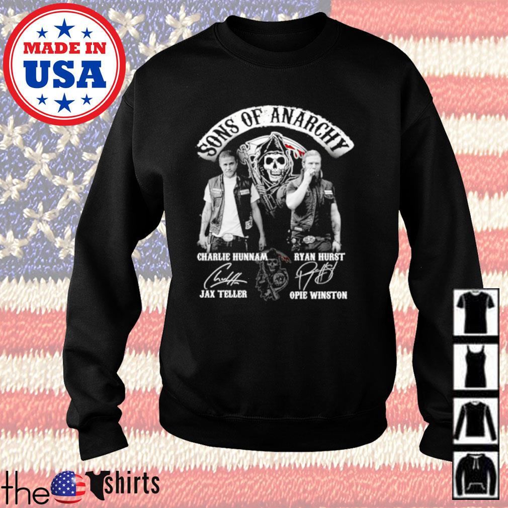 Sons of Anarchy all character signatures s Sweater Black